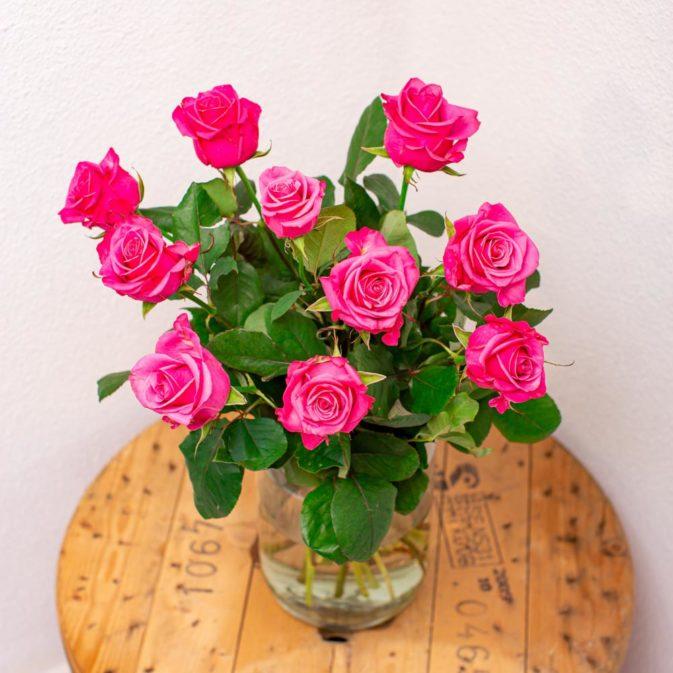 roze rozen bloemen bezorgen