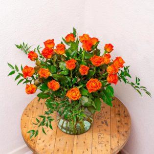 oranje rozen bloemen bezorgen