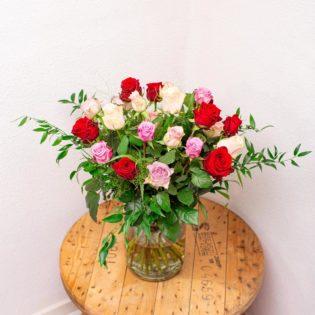 rozen gemengd bloemen bezorgen
