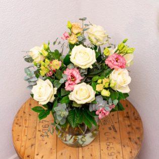 rozen pastel gemengd bloemen bezorgen