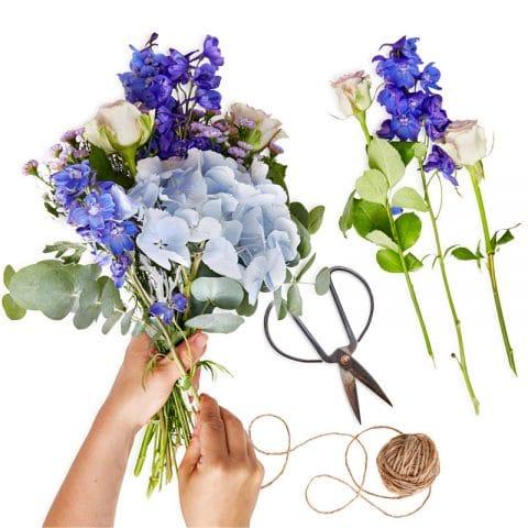 Seizoensverrassing Blauw Bloemen Bezorgen Den Haag