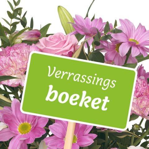 Seizoensverrassing Roze Bloemen Bezorgen Den Haag