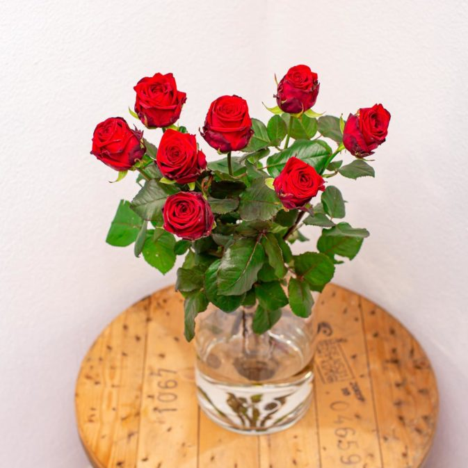 rode rozen per stuk bloemen bezorgen