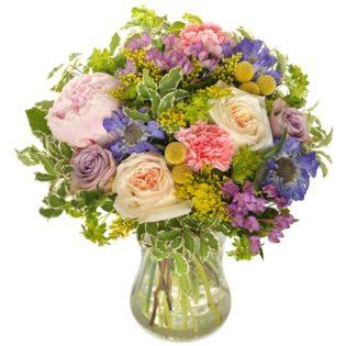 Bloemenvreugde groot