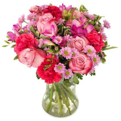 Hartverwarmend roze groot