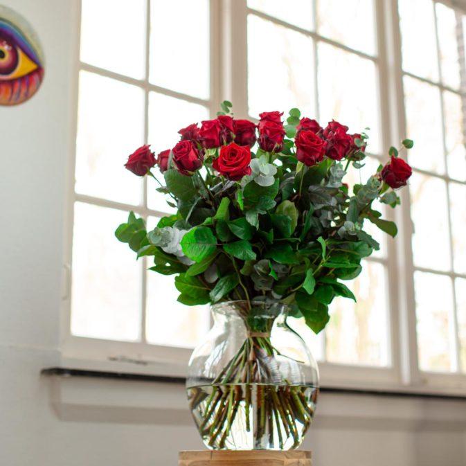 rode rozen bloemen bezorgen