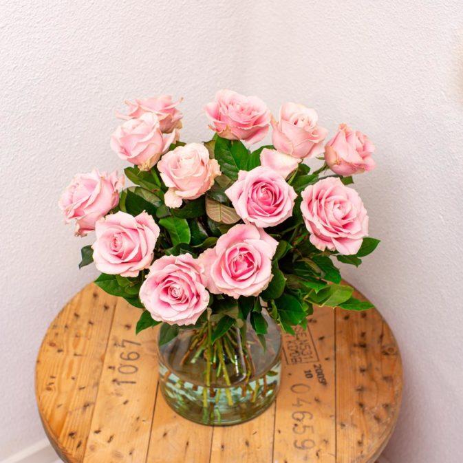 rozen lichtroze bloemen bezorgen