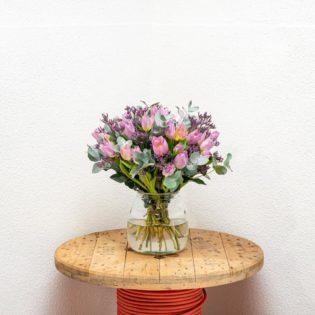 tulpen paars koningspaar bloemen bezorgen